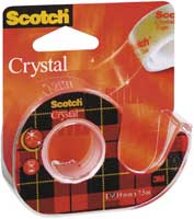 Клейкая лента Scotch Crystal
