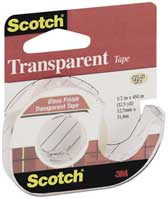 Клейкая лента Scotch® Transparent в диспенсере.